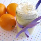 Creamy Orange Glorious - This orange smoothie with heavy cream and vanilla, is reminiscent of a popular fast food drink.