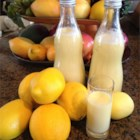Creamy Limoncello - A delicious, lemony treat without the bite of regular limoncello.