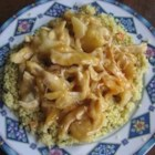 Golden Chicken Casserole - Apricot preserves give a different twist to this saucy sweet-and-sour chicken from Melanie May of Fishers, Indiana. With just five ingredients, it's a snap to stir up and serve over rice.