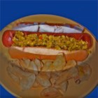 Hot Dog Relish - Onions, cabbage, green peppers, green tomatoes, and seasonings make a terrific topping for hot dogs and macaroni salads. This recipe makes approximately 9 to 12 pints.