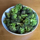 Roasted Sage Broccoli - Broccoli is roasted with fragrant sage leaves and red onions for a crisp vegetable side dish.