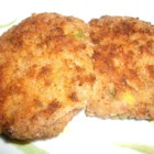 My Great Grandmother's Ham Croquettes - These meatballs are made with diced ham, egg, mayonnaise, and breadcrumbs.