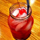 Hillbilly Punch - Enjoy this cold refreshing drink. A (1 quart) canning jar is filled with rum, peach schnapps, Amaretto liqueur, cranberry juice and lemon soda.