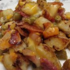 Easy Dinner Hash - This one dish meal is easily scaled to fit the number of people being served.  I use it when it's just my daughter and me home for dinner.