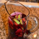 Amanda's Sangria - Red wine punch marinated with fruit and flavored with cloves. Mix with lemon-lime soda and serve.