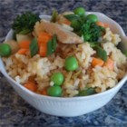 Pork Fried Rice - This is a quick and easy way to enjoy stir-fried rice with pork and vegetables at home.