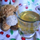 Teddy Bear Juice - A sweet, warm, and soothing drink made with apple juice and honey is perfect for anybody who is suffering a cold or who just wants an alternative to a cup of tea. Do not give honey to children under 1 year of age.