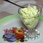 Candy Bar Salad - Kids will love this cool, sweet fruit salad dessert made with easy ingredients like pudding mix. There's chopped apples, bananas, and caramel-peanut candy bars for texture.
