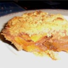 Deep Dish Persimmon Pie - Sweet fuyu persimmons make a scrumptious alternative to the traditional fruit pie fillings.