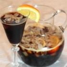Monica's Baptist Sangria - This fresh, sweet nonalcoholic drink is beautiful in a punch bowl and will have your guests coming back for more and more!