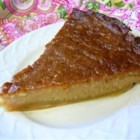 Miraculous Canadian Sugar Pie - A well-loved brown sugar pie confection from Quebec settles out while baking to form its own crust, a gooey middle layer, and a sugary, crusty topping.