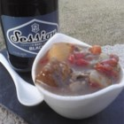 Irish Canadian Beef Stew - A hearty beef stew with potatoes, turnip, and barley has the extra flavor option of Irish stout beer.