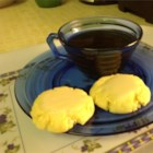 Tea Cakes II - These tea cake cookies are great for letting children frost them because they don't crumble easily.