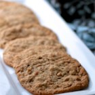 Healthier Classic Peanut Butter Cookies - Replacing some of the butter with applesauce makes for a healthier, less greasy (but still tasty) peanut butter cookie.