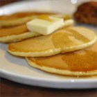 Raised Griddle Cakes - This is a very old fashioned version of corn-meal pancakes which are risen.  It may be a bit tedious for the modern cook because it has to sit overnight.  It came to our family via my great grandmother and dates back to the mid 1870s.  The cornmeal gives these pancakes a tiny hint of fried mush, a splendid treat that exceeds my patience to make.