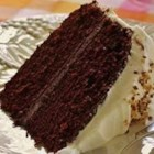 Fabulous Fudge Chocolate Cake - This is my favorite chocolate cake recipe because of the moist texture and rich, dark chocolate flavor.  Enjoy!