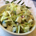 Peppery Coleslaw with Cucumbers and Celery