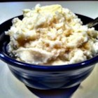 French Garlic Mashed Potatoes - Mashed potatoes get flavor and creaminess from French onion dip and garlic for a quick side dish that's great for weeknight meals or a holiday dinner.