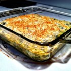 Creamy Broccoli and Cheese Casserole - Kids will eat their broccoli when it comes in the form of a creamy, cheesy casserole topped with buttered crumbs.