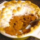 Mashed Sweet Potatoes with Marshmallows