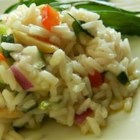 Louisville Rice Salad - A delicious cold rice salad is easy to make your own by adding and varying the ingredients.