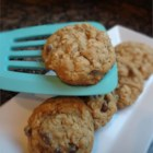 Mama's Chewy Oatmeal Cookies - Plenty of quick-cooking oats give a hearty, nutty taste to sweet and chewy cookies made with simple pantry ingredients in this vintage family recipe.