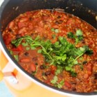 Easy Chili I - This is a powerhouse chili that's a snap to make!  Just saute onion, beef, and green bell peppers, and then stir in spices, chile peppers and tomatoes!