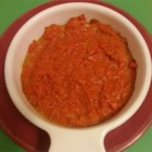 Jeff's Carrots - Bright orange mashed and baked carrots are sweetly flavored with vanilla extract, allspice, nutmeg, and ginger for a pretty side dish perfect for Easter dinner.