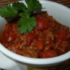 Tequila Chili - This simple and quick one-pot chili has great flavor and is nice and meaty.