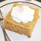A Very Moist Carrot Cake - This carrot cake is so moist it doesn't need icing! It would make a great addition to your Easter cakes collection.