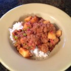 Keema Aloo (Ground Beef and Potatoes) - Plain old ground beef, potatoes, and a can of tomatoes get an Indian-inspired treatment for a hearty and filling dish that's a little different.
