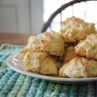 Baking Powder Biscuits I - Just mix the basic ingredients, drop the batter by spoonfuls onto a baking sheet, and bake.  These golden biscuits are so simple you will be surprised by the lovely texture and taste.