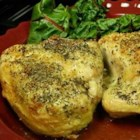 Baked Split Chicken Breast - Baked split chicken breasts cook up with delicious, crispy skin. They turn a simple dinner into a sensational meal.
