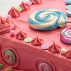 Bubble Gum Candy Cake - Whoever said, 'don't play with your food' never baked a Bubble Gum Candy Cake. It's as fun to decorate, as it is to eat!
