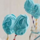 Cotton Candy Cake Pops - A new spin on a popular dessert--these cotton candy frosting cake pops are bunches of bite-sized fun.