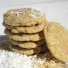 Grandmother's Oatmeal Coconut Cookies - Take oatmeal cookies and add crispy rice cereal and coconut using this recipe.