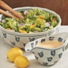 Tossed Salad with Citrus Dressing - This is a refreshing salad with a very light dressing. The radishes add nice color.