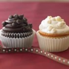 Ghirardelli(R) Dark Chocolate Cupcakes - Indulge your chocolate craving with these dark chocolate mocha cupcakes topped with rich and creamy semi-sweet chocolate frosting.
