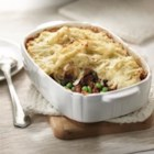 Short-Cut Shepherds Pie - Plan ahead on the weekend so you have leftover roast beef or steak to make this easy version of a classic. While it bakes, get the homework out of the way, make a salad, set the table and you're ready to enjoy a home-cooked meal.