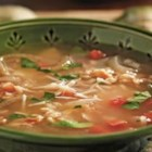 Zuppa de Farro - Farro is a delicious alternative to rice or pasta in this Tuscan-inspired soup, made with chicken broth, pancetta and tomatoes, and seasoned with garlic, basil and thyme. It's easy to make and it's absolutely delicious!