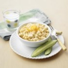 Monday Night Mac and Cheese - Five seconds is all that it takes to pour in the cream with this no fuss one-pot pasta dish that doesn't even require draining. It's so fast and easy, you can prepare any day magic any time. The cream, milk and Canadian cheese make a fabulous sauce - your kids'll love Mondays!