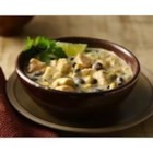 Chicken Chili Verde - With creamy chicken corn chowder and black beans, this flavorful chicken chili verde is ready to eat in less than half an hour.