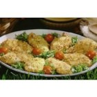 Marzetti(R) Honey Dijon Chicken - A great go-to chicken recipe. Just coat chicken in Marzetti(R) Honey Dijon Dressing, then dip in a mixture of bread crumbs and Parmesan cheese, bake and enjoy.
