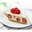 Raspberry Lemonade Pie - This creamy lemon pie with raspberries makes an elegant dessert for special occasions.