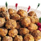 Jimmy Dean Sausage Cheese Balls - Making appetizers is fun and easy with these cute and tasty sausage balls. They can even be made ahead of time, and frozen. Just thaw and bake when you need them!