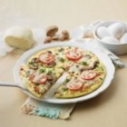 Puffy Pizza Omelette - Boost any day with this super combo! The flavour of pizza is always a hit and eggs are a terrific, nutritious pick-me-up for any busy week night. The cream creates a puffy, tender omelette – any day magic that's sure to lift the whole family