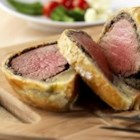Pepperidge Farm(R) Beef Wellington - Rare roast beef tenderloin is topped with sauteed mushrooms, encased in flaky Pepperidge Farm(R) Puff Pastry and baked until golden.