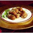 Jimmy Dean Sausage Couscous Croquettes - Seasoned with cumin, cayenne pepper, and parsley, these couscous croquettes are fried until crisp to make irrisistable hot appetizers.
