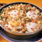 Chicken and Egg Hash - 'This recipe is one of my daughter's favorites,' relates Joyce Price of Whitefish, Ontario. 'To reduce cooking time and clean out the fridge, dice up leftover potatoes and use cooked chicken or ham instead,' she suggests.
