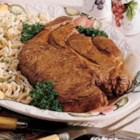 Chuck Roast with Homemade Noodles - The whole family loves Mom's tender beef and hearty noodles. Simmered in beef broth, the noodles taste wonderfully old-fashioned. Mom has to make a huge batch since even the grandchildren gobble them up. -Gloria Grant, Sterling, Illinois